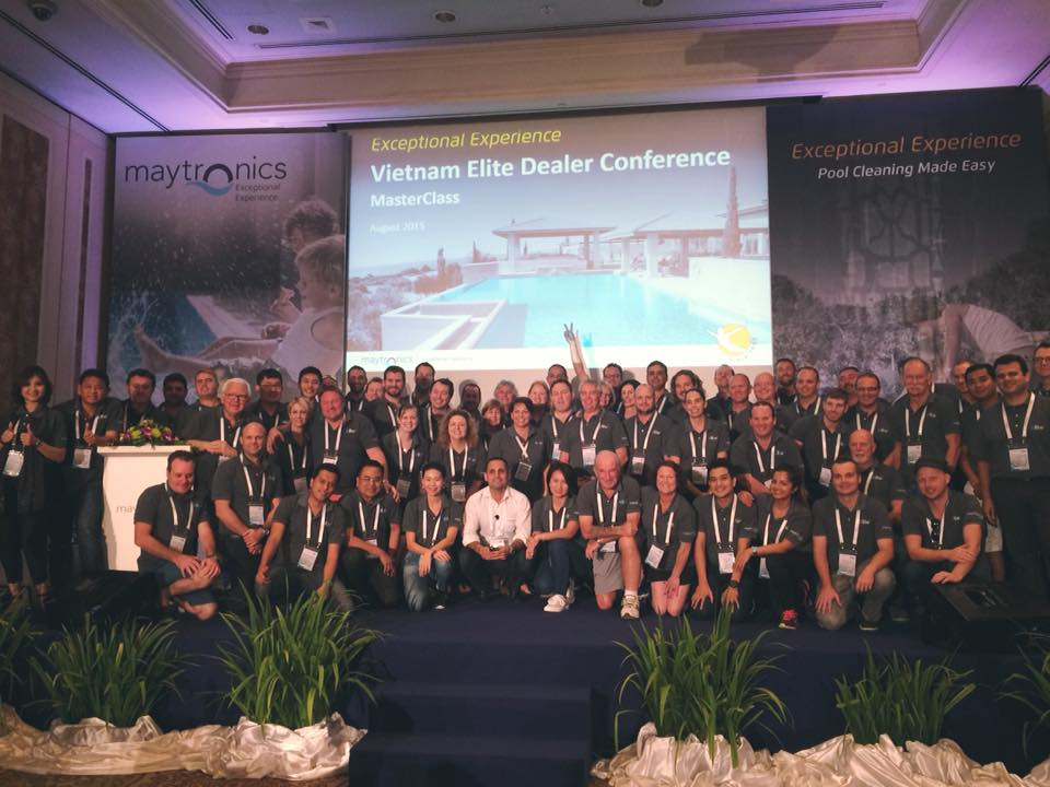 Maytronics 4th Elite Dealer Conference In Ho Chi Minh City